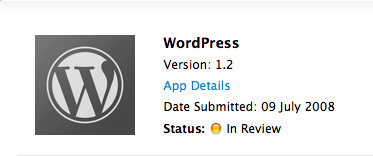 wordpress-iphone-app-store