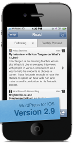 WordPress for iOS Read