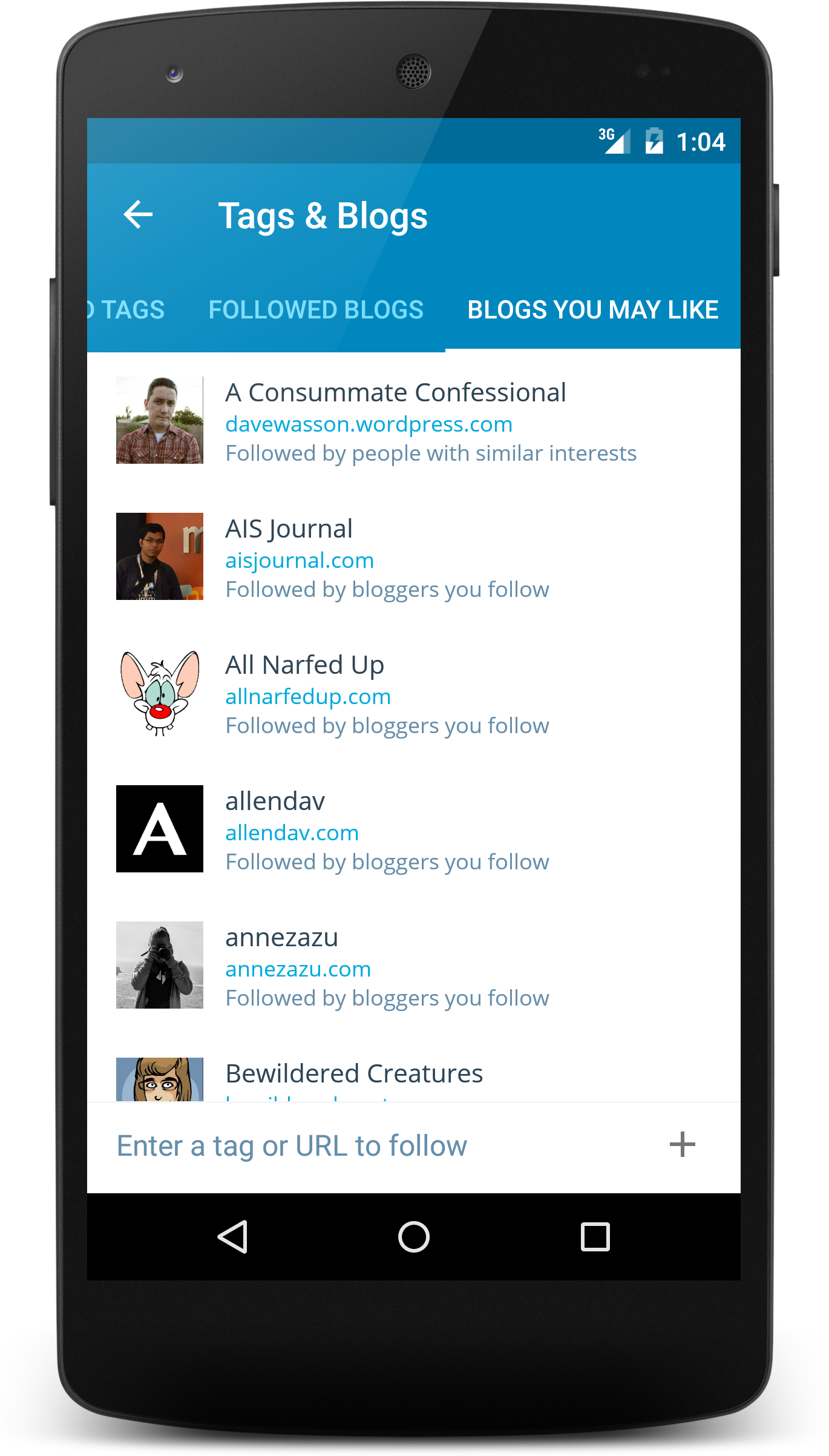 WordPress com Apps - WordPress for Android: Version 4 3