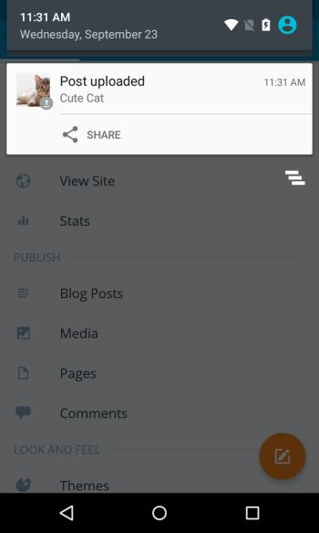 Nexus 4 (Lollipop) Screenshot 2